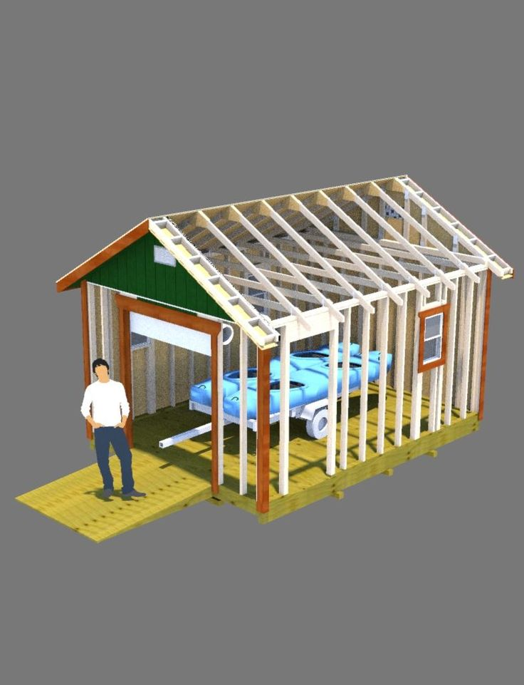 2504 best images about sheds workshops with apartments for Boat storage shed plans