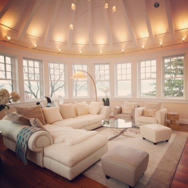 living area lighting. living area in the round with a panoramic view comfy soft furnishings lighting s