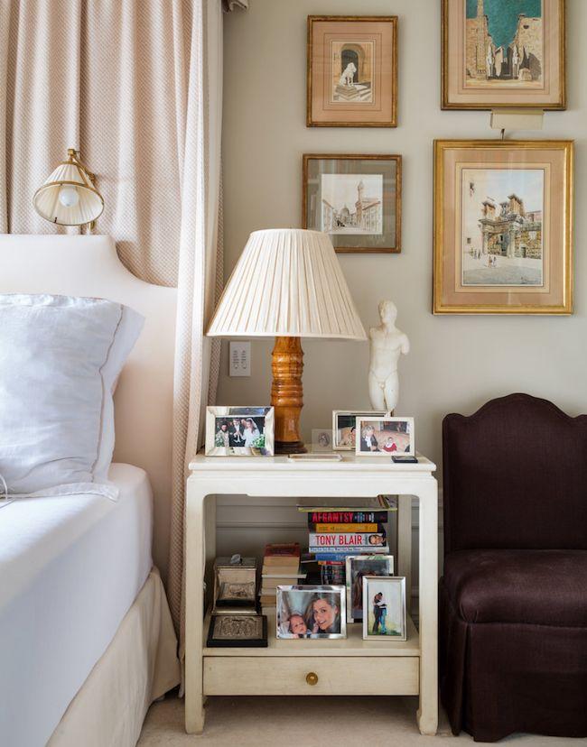 Alexa Hampton Bedside Table Art Bedroom Pinterest