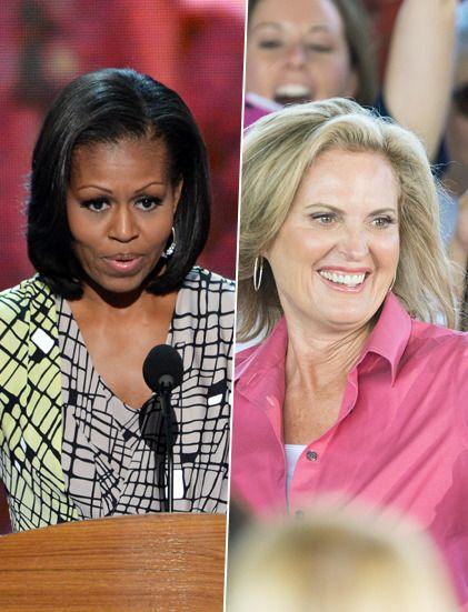 Michelle Obama, Ann Romney, Hillary Clinton, Condoleezza Rice, Janet Napolitano, Beth Myers… Les femmes au cœur de l'élection présidentielle américaine