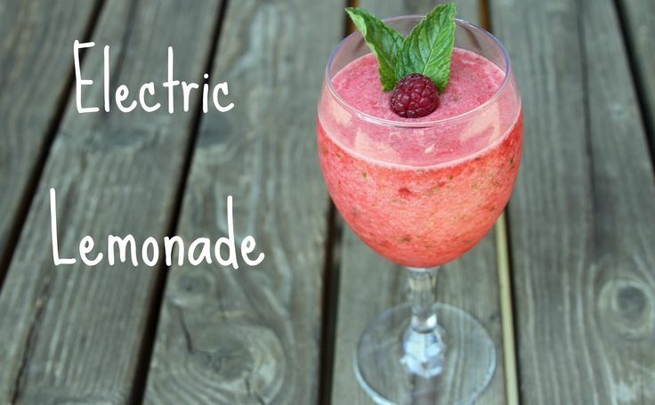 Fancy That Notion: Electric lemonade recipe