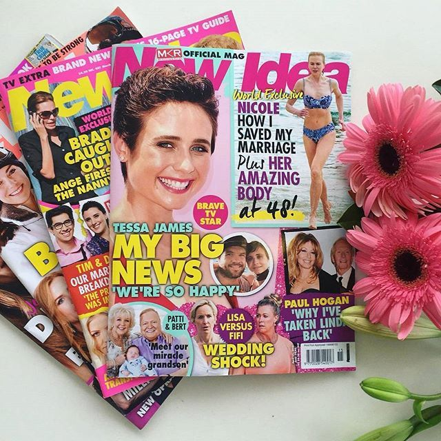 New Idea Magazine will keep Mum up to date each week! #newidea #ilovemagazaines #MD2016 #giftideas