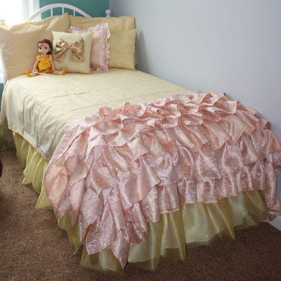 Disney Princess Belle Inspired Room On Etsy Bedroom
