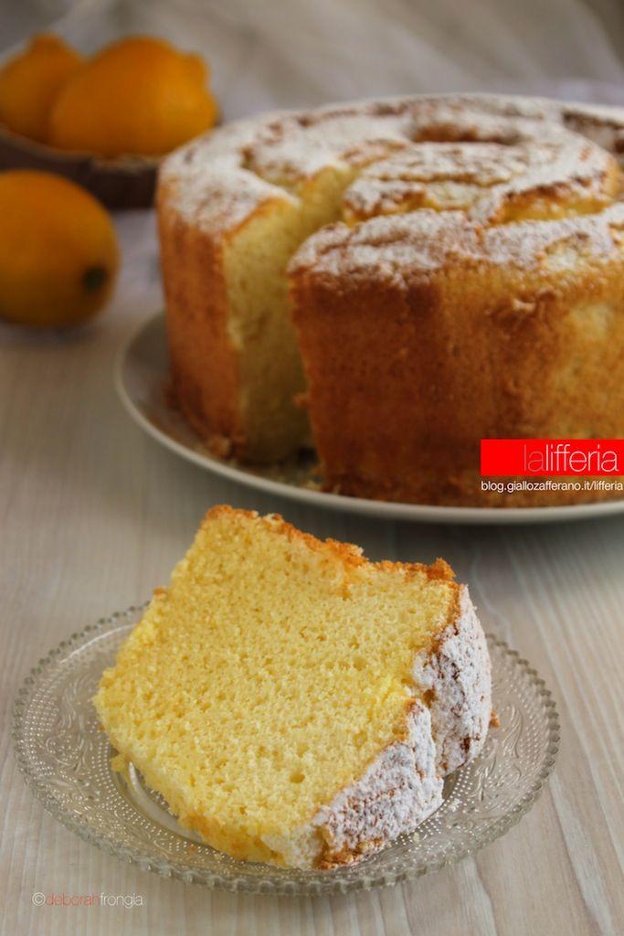 Chiffon cake al limone