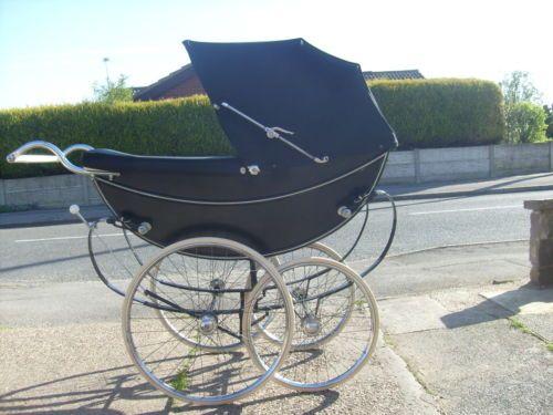 Marmet Queen Coachbuilt Vintage Pram Black.   eBay