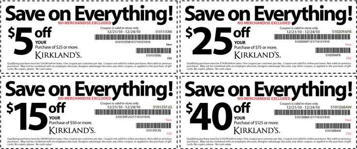 Kirklands coupon code