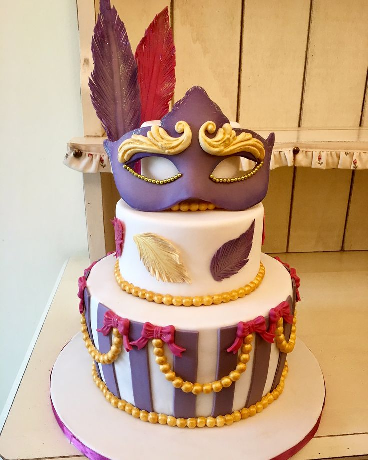 Cake Carnival mask