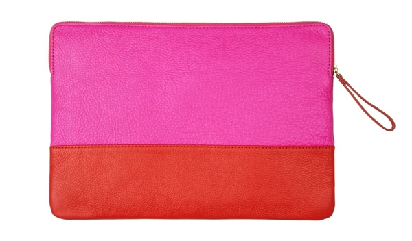 Loving this pink and orange clutch bag! #GapLove