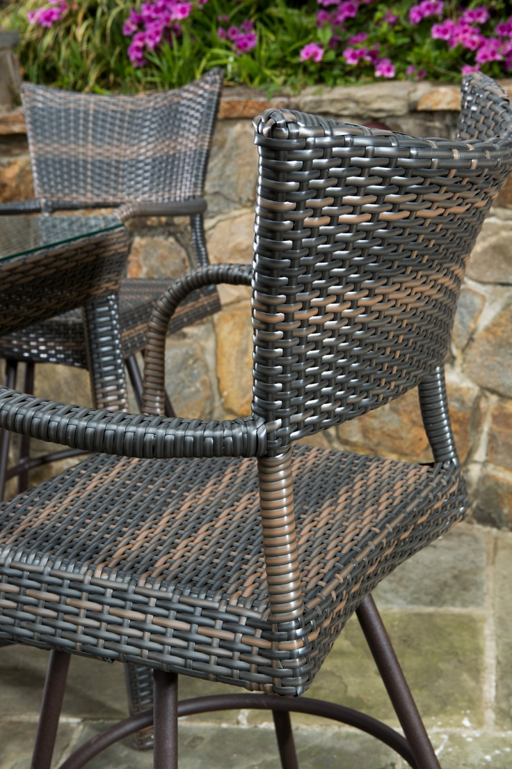 home trends outdoor furniture. alfresco home tutto collection outdoor wicker bar stool trends furniture