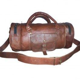 Leather #DuffleBag #TravelBag 18 inch