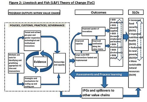 Pathways to deliver impact: Working on the Livestock and Fish program's theory of change