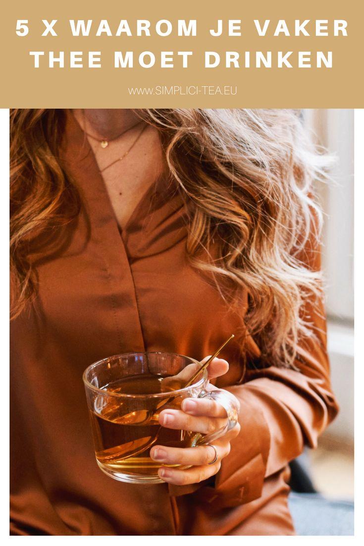 Waarom is thee zo gezond? | Bestel Simplici-Tea thee online voor een gezond lichaam | Drink vaker thee voor een gezonde levensstijl