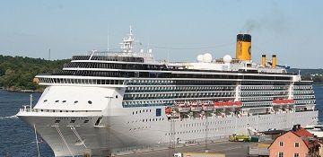 Costa Cruises cruise ship Costa Atlantica. Track the cruise ship, live, in real time.