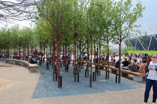 STREETLIFE R&R Curve Banken @ Queen Elizabeth Olympic Park, Stratford, London