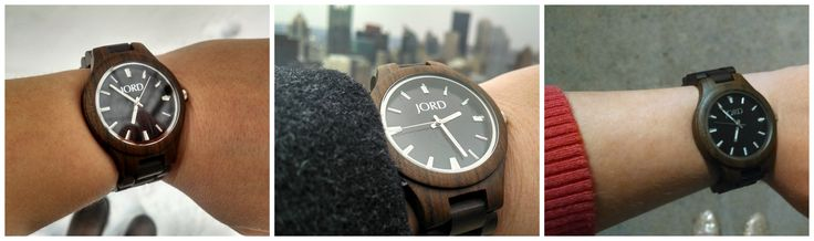 Check out JORD wood watches, and enter the giveaway to win your own.