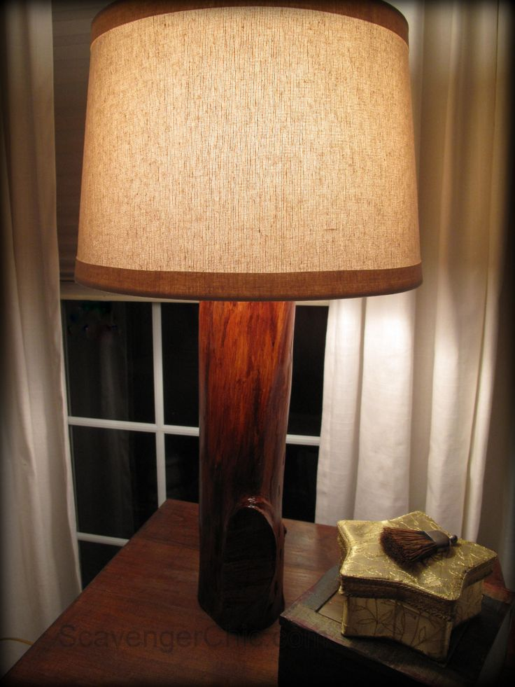 116 best images about lighting on pinterest baseball for Upcycled tree stumps
