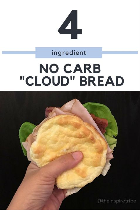 No Carb Bread with only 4 ingredients 21 Day Fix Approved