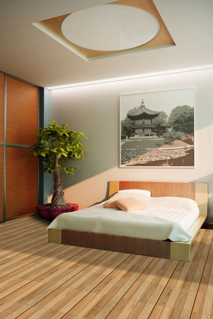 Orient bedroom floor tiles