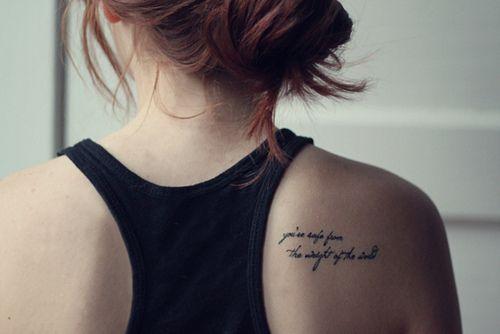 17 Best Ideas About Shoulder Blade Tattoos On Pinterest