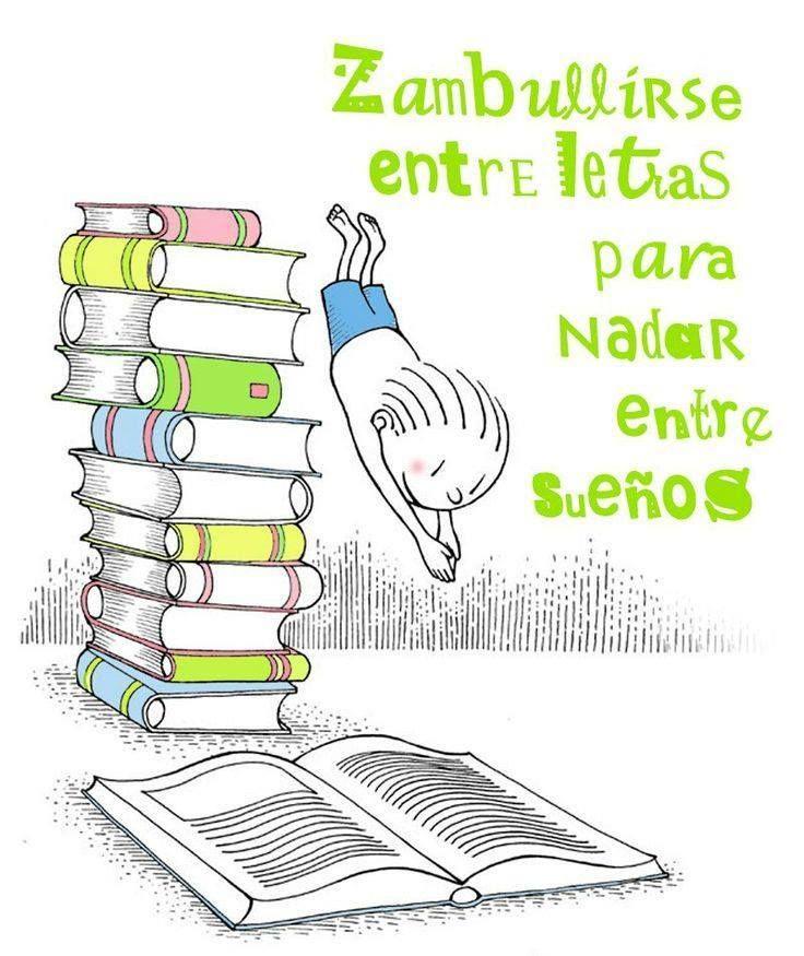 Leer, libros - Read, books