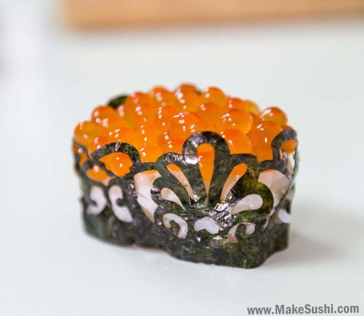 Made my gunkan maki sushi a little more unique :) [2620x2273] [OC]