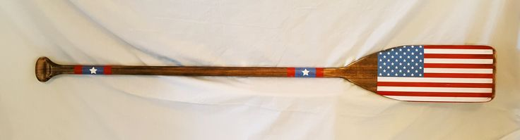 57 inch American Flag Decorative Paddle