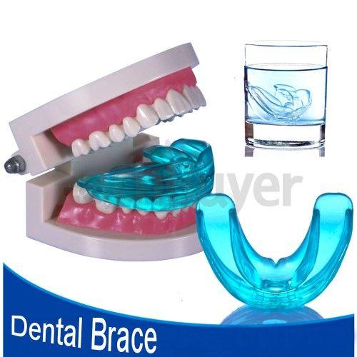 Silicona azul diente aparato ortodóncico apoyos profesionales odontólogos