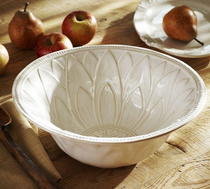 Juliette Serve Bowl | Pottery Barn Australia
