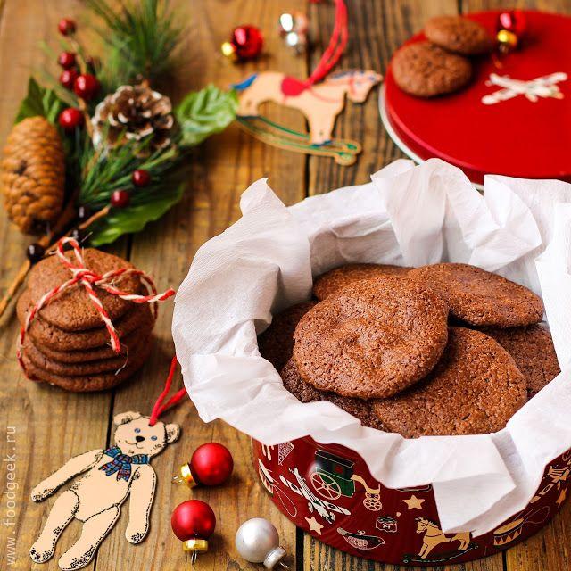 food geek: Воздушное шоколадное печенье