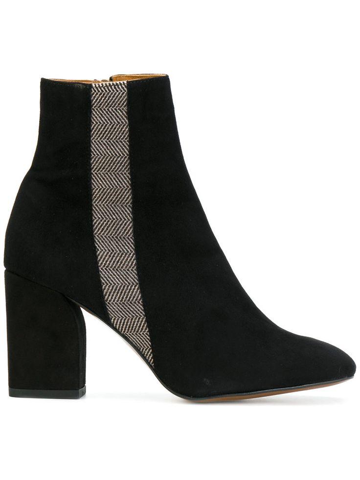CASTAÑER CASTAÑER - STRIPE ANKLE BOOTS . #castañer #shoes #