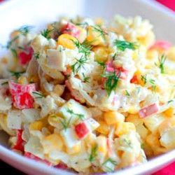 Поверьте, такого крабового салата вы еще не ели! Потрясающе вкусный!