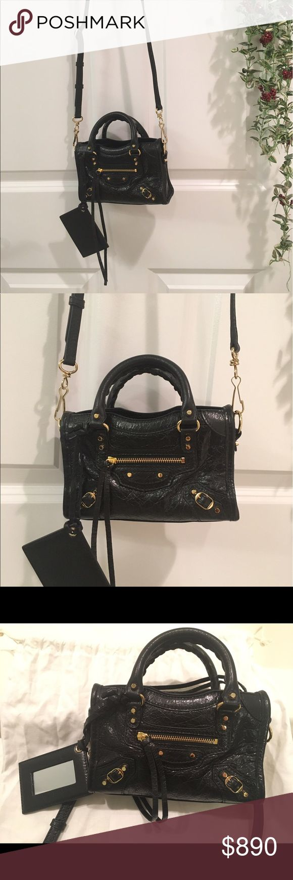Balenciaga Classic Nano City *New* and 100% authentic. Dust bag included. Thanks! Balenciaga Bags Mini Bags