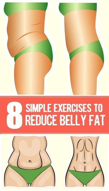 8 Simple Exercises To Reduce Belly Fat #summervibes