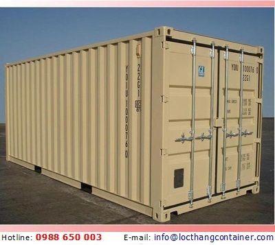 Container Kho 20 Feet GP --------------------------------------------- Hotline: 0988 650 003 E-mail: info@locthangcontainer.com
