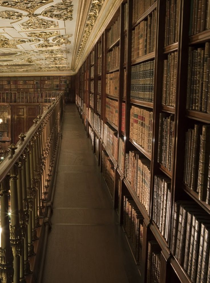 "theladyintweed: "" Beautiful Libraries: "" Chatsworth House, England. "" """