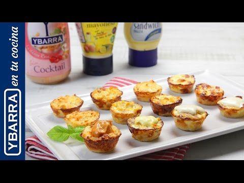 Receta Mini quiches variadas con salsas Ybarra - Ybarra en tu cocina