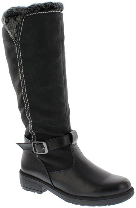 Boston Accent Women's Patty Snow Boots, BLACK, ...