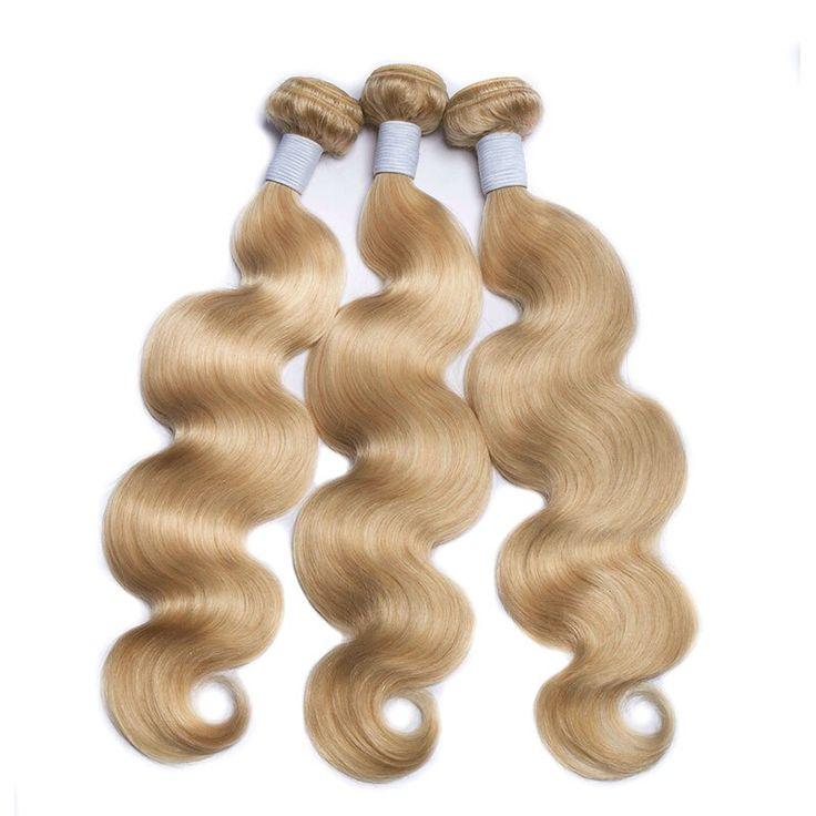Alibele Hair 613 Blonde Bundles Brazilian Body Wav…