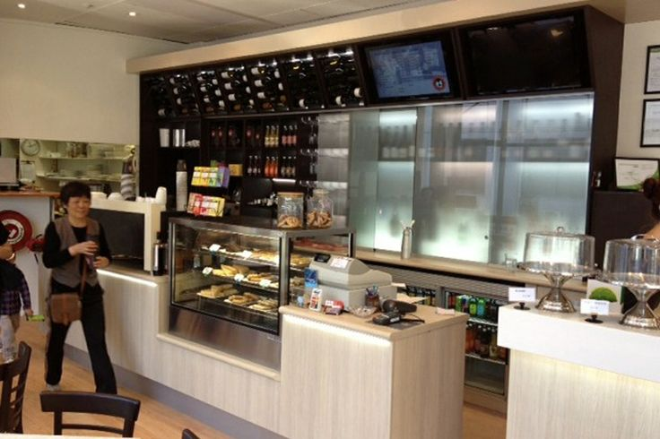 Rigazzi Cafe Servery Counter Display