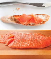The highly prized King salmon (Oncorhynchus tshawytscha) is itself a rare luxury, making up less than one percent of the world's salmon population. It has the highest natural oil content of all salmon species, giving it a luscious, elegant texture and a rich taste; as well as providing an excellent source of Omega-3.