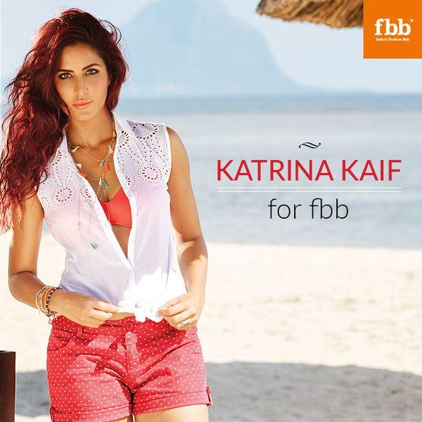 Fashion at Big Bazaar India  Hair: Bianca Hartkopf ( Toabh Talents ) Photographer: Suresh Natrajan  Celebrity: Katrina Kaif