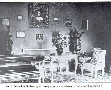 Wnętrze dworu - zdjęcie archiwalne, zdjęcie Jakub Orzechowski