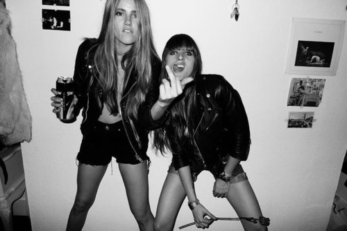Girls can Rock + Party + Drunk