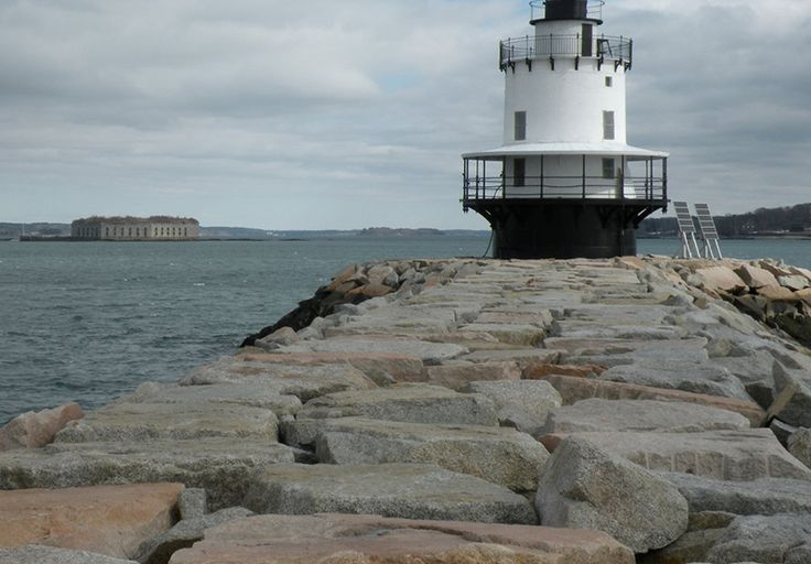 The South Portland hike offers views of lighthouses, islands, forts and much more.