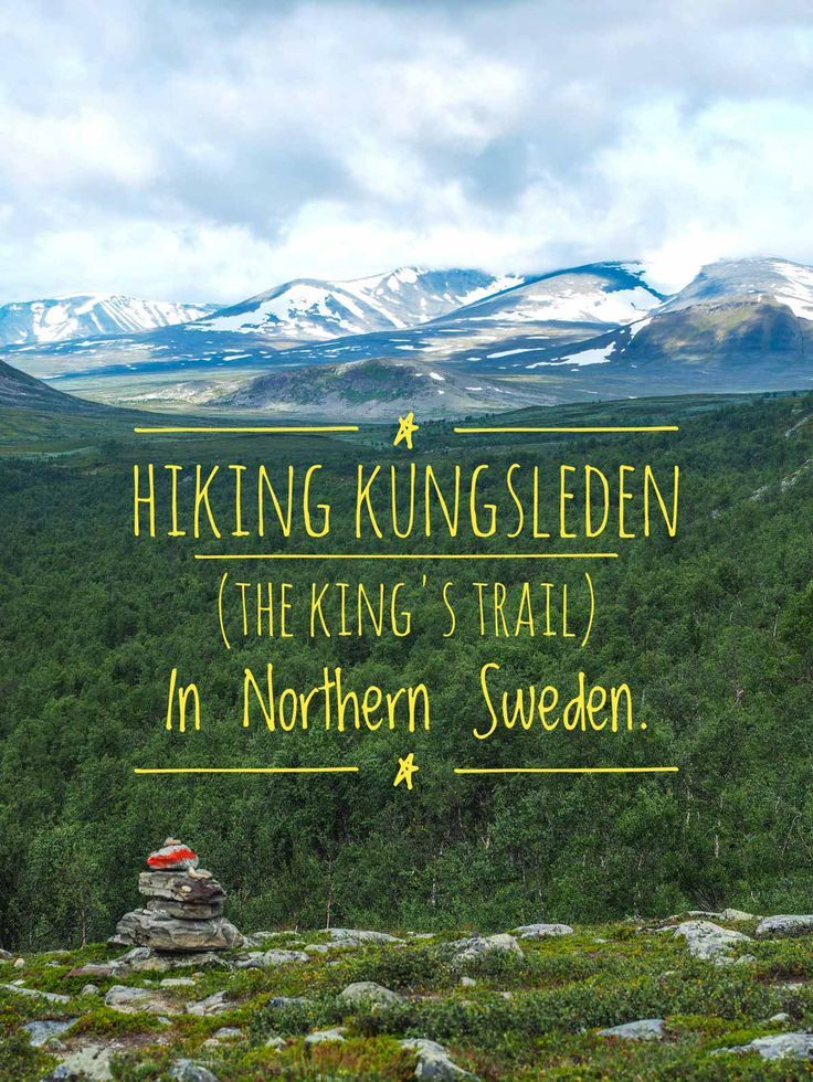 Best 25 hiking in europe ideas on pinterest hiking europe id kungsleden central part the kings trail sciox Image collections