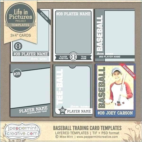 Baseball Card Size Template Best Of Baseball Card Template Hitachicustomersupportfo Trading Card Template Baseball Card Template Baseball Trading Cards