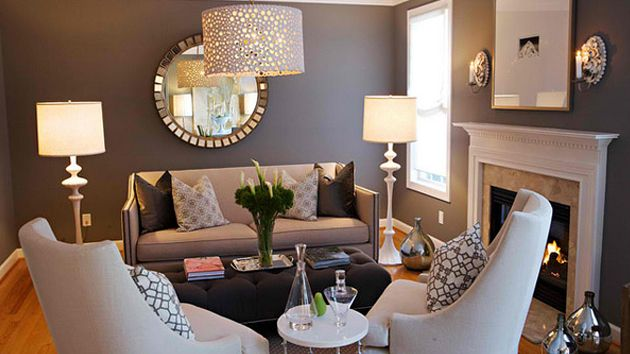 Living Room Ideas:  Living Room With Accessories