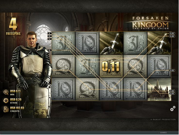 FORSAKEN KINGDOM™ sends the player on a heroic mission and throws him into a dark and hostile environment. As King Arthur, the player has to face various challenges and deadly threats.