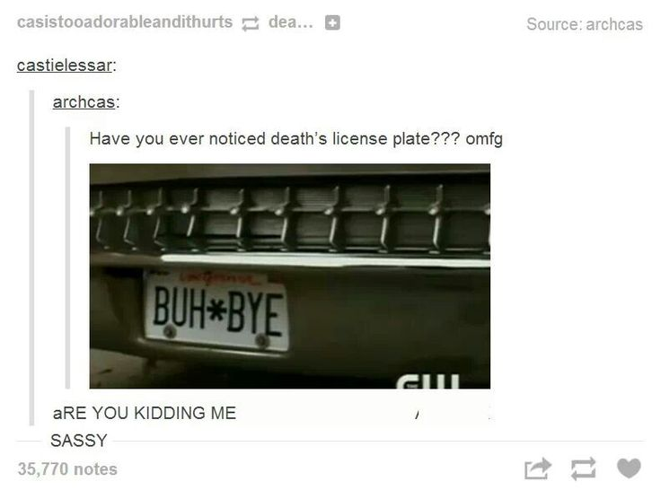 Death is the King of Sass
