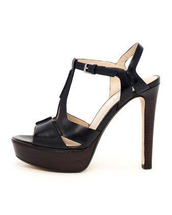 Brookton Platform Sandal by KORS Michael Kors at Neiman Marcus.